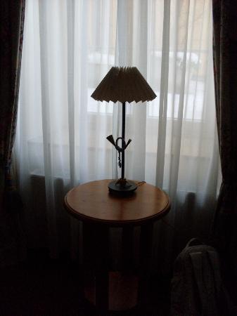 Hotel Post Murnau: Lampe mit Posthorn