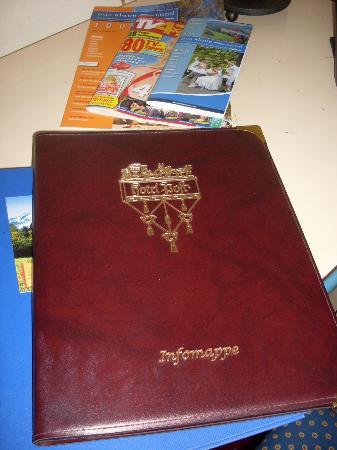 Hotel Post Murnau: Info-Mappe