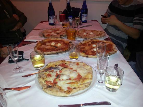 Pizza Amalia da Cris: Pizze