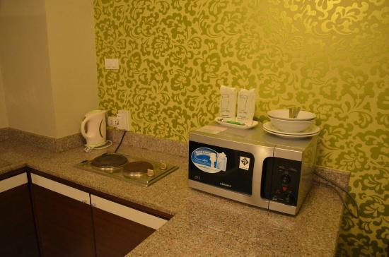 โรงแรมใบหยก เจ้า: pantry