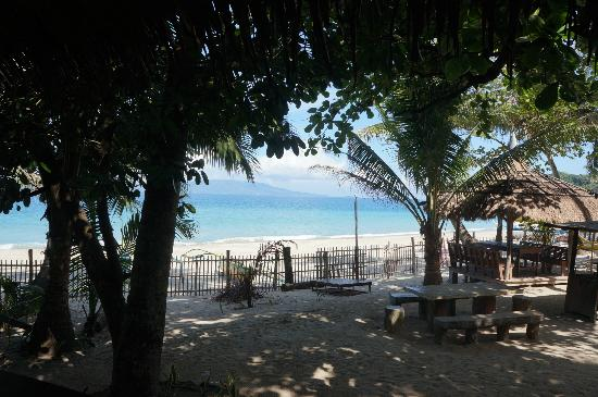 Summer Connection Beach Resort: view from beach hut
