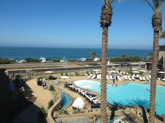 Cape Rey Carlsbad, a Hilton Resort: view from 3rd-floor room