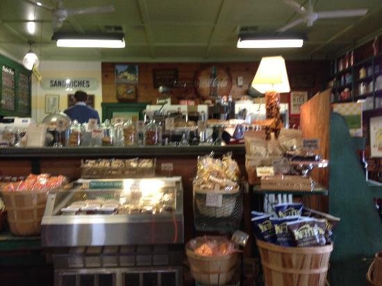 Jimtown Store: inside