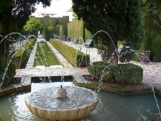 Jardines de la alhambra picture of granada province of for Jardines alhambra