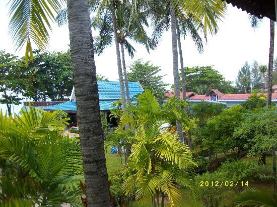 Blue Andaman Lanta Resort: Utsikt från rummet A208