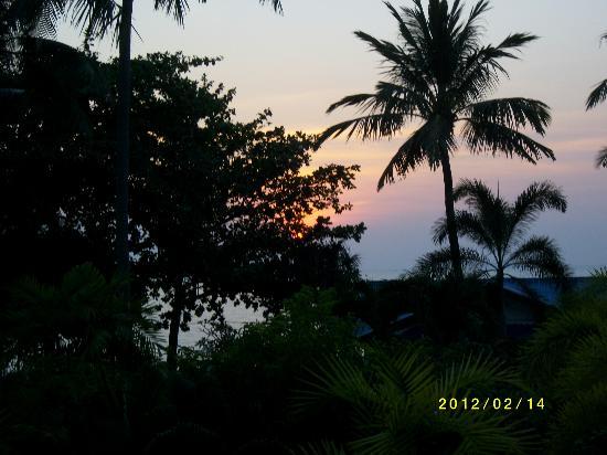 Blue Andaman Lanta Resort: Solnedgång rum A208
