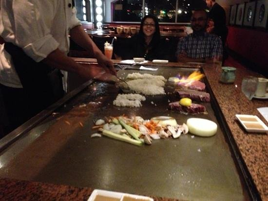 ChopHouse Restaurant: tepanyaki