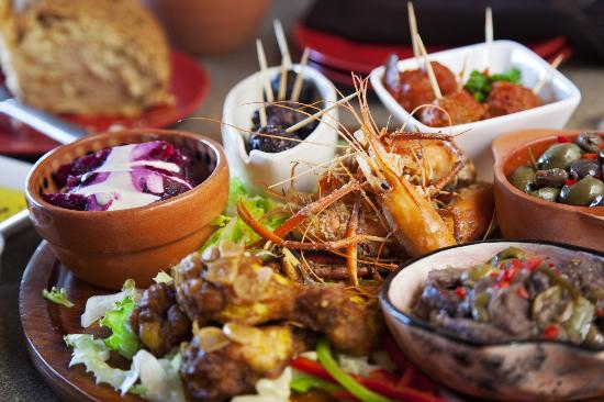 Tapas On The Bay: Mix it up by Picking your Platter