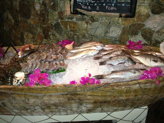 Capella Ixtapa: Fresh fish at Seafood Market