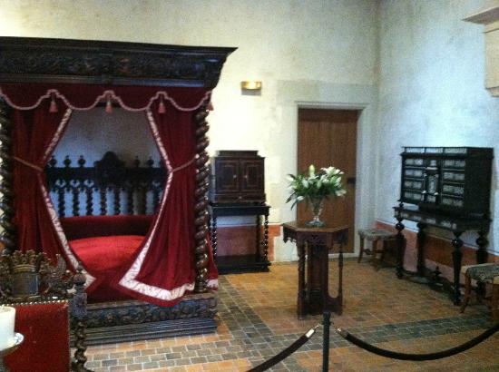 Le Château du Clos Luce - Parc Leonardo da Vinci: Leonardo's bed chambers