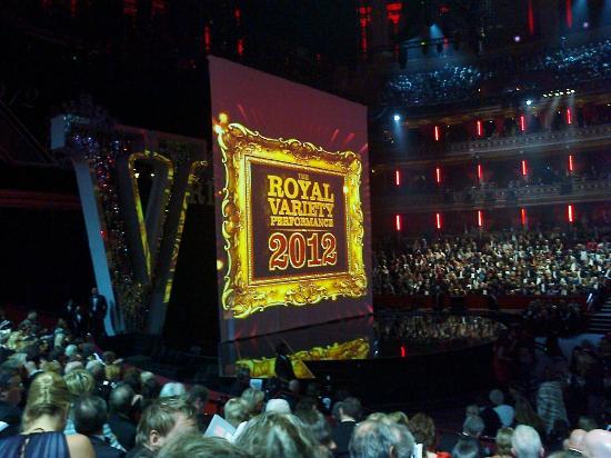 Royal Albert Hall: The stage
