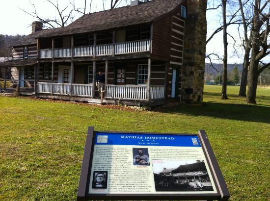 Lost River Bed & Breakfast: One of the historically interesting sites to visit very near the B&B