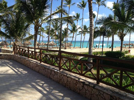 Hotel Majestic Colonial Punta Cana: View from Steakhouse