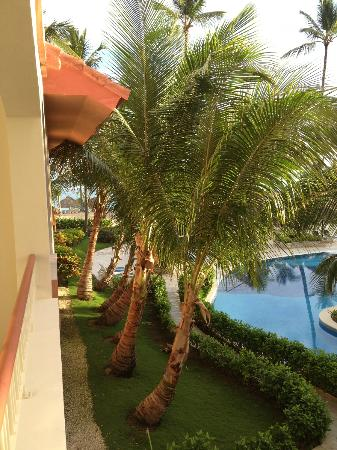 Hotel Majesctic Colonial Punta Cana: View from room towards beach