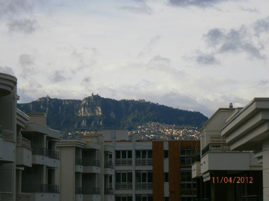 Residence San Marino : view from balcony