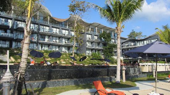 Beyond Resort Krabi: Main building from sunbed area near beach