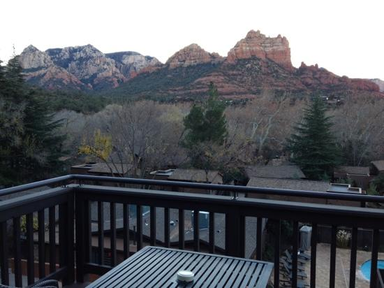 L'Auberge de Sedona: red rock view