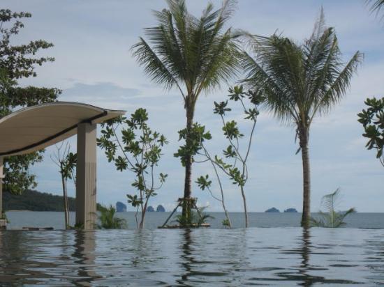 Beyond Resort Krabi: View from infinity pool