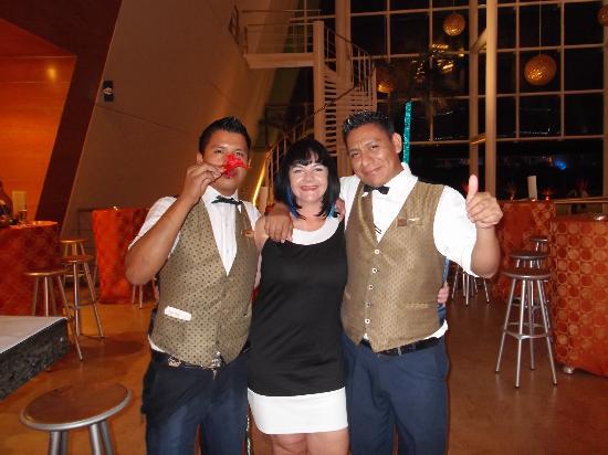Grand Sirenis Riviera Maya Resort & Spa: best barmans ever