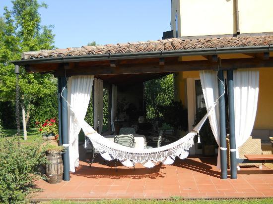 Villa Bellaria B&B : patio relax