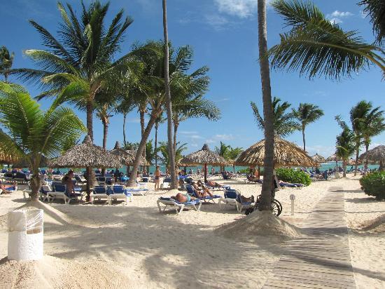 Grand Bahia Principe Punta Cana: La plage !!