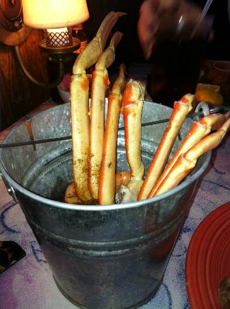 The Ketch Seafood Grill: crab and shrimp bucket