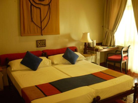 Hotel Sigiriya: chambre