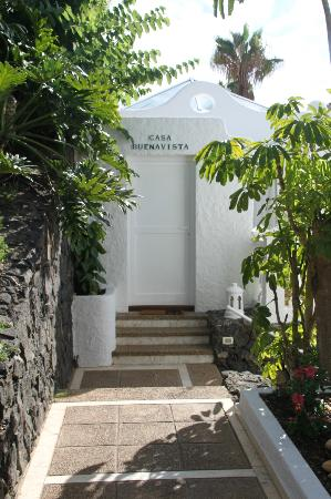 Jardin de La Paz: Entrance to suite