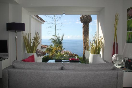 Jardin de La Paz: view from bed and sitting area