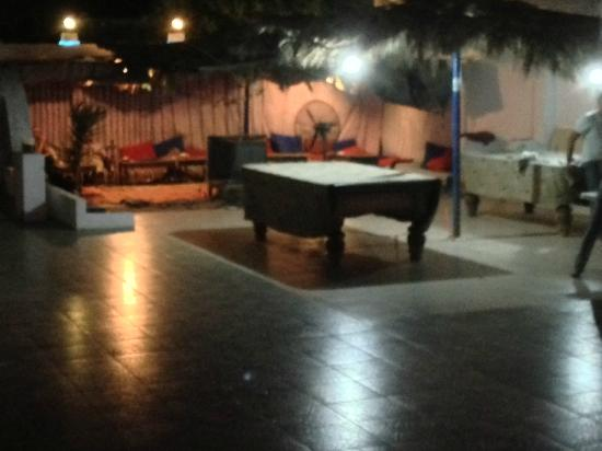 Dahab Plaza Hotel: Chill area . . free coffee & shishah