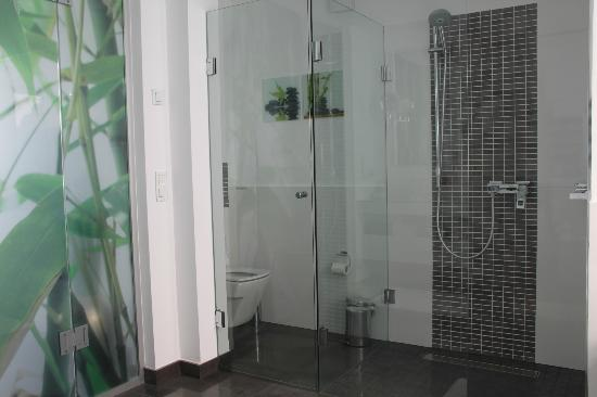 Jardin de La Paz: Great shower