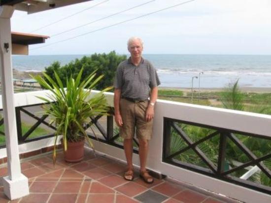 Las Tablas, Panamá: Posada del Mar-View from the Terrace