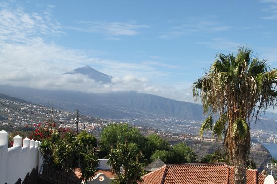 Jardin de la Paz: beautiful views with Mount Teide 