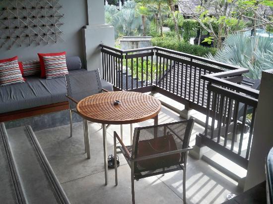 The Slate: Balkon