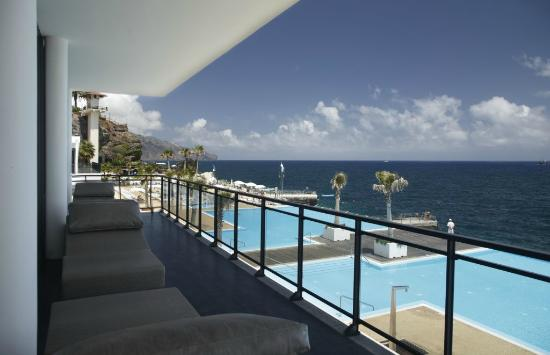 VidaMar Resort Hotel Madeira: Mar Spa Thalasso Terrace