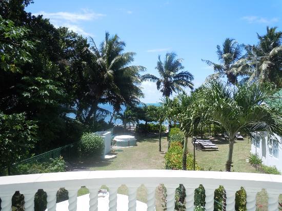 Ocean Villa Grand Anse : Vue depuis la chambre principale