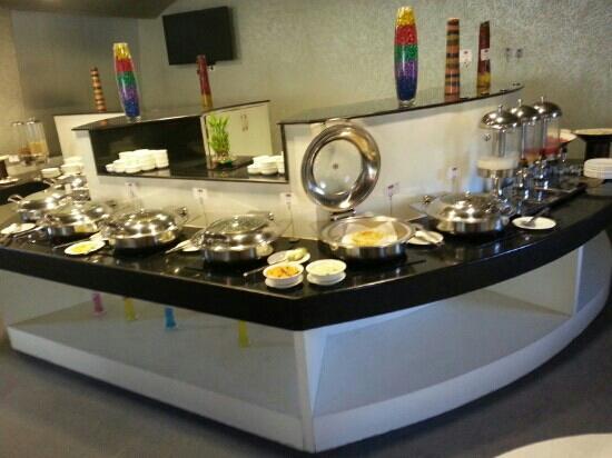 The Theme, Jaipur: dining area