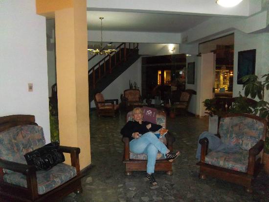 Hotel Playa: En el loby