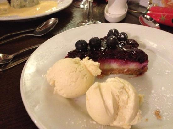 The Moorings: Blueberry Cheesecake