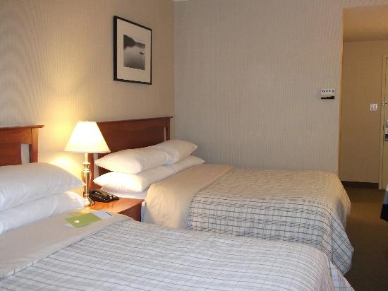 Four Points by Sheraton Quebec: chambre deux lits