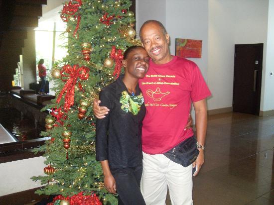 The Carlton Savannah: My fellow Director hugging staff member Candace Sampson