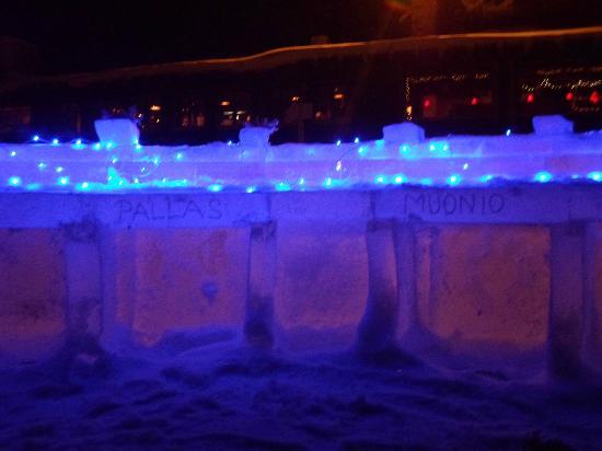 Lapland Hotel Pallas: ice bar