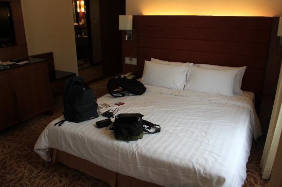 Rembrandt Hotel Bangkok: chambre avec lit deux places