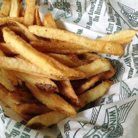 Wing Stop: Fresh Cut Seasoned Fries