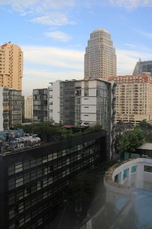 Rembrandt Hotel Bangkok: très jolie vue