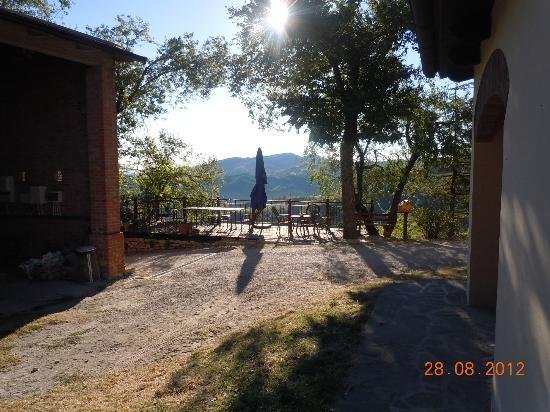 Agriturismo Malbrola: La nuova terrazza panoramica