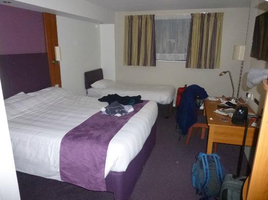 Wifi log in page picture of premier inn caernarfon hotel for Premier inn family room