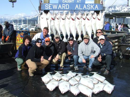 Crackerjack Sportfishing Charters : Our charter's catch