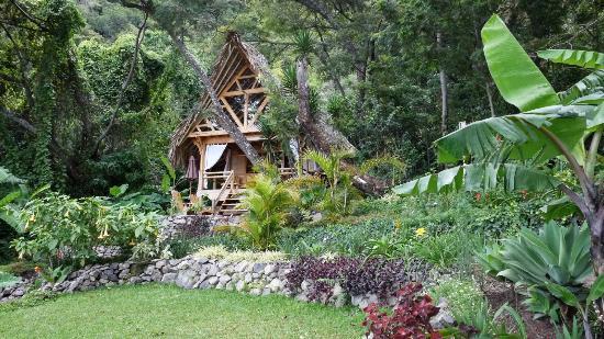 La Fortuna at Atitlan : Cabin overlooking the lake