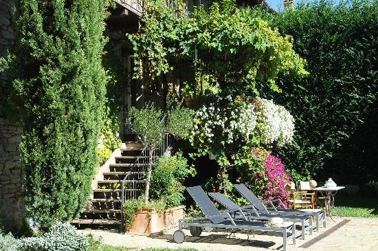Relais Le Due Matote: giardino